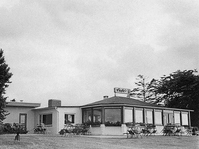 Historie Cafe Strandrestaurant Marienbad