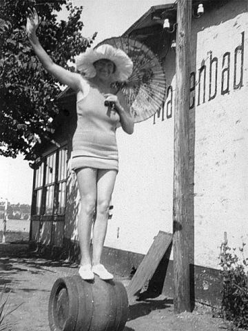 Historie Frau Strandrestaurant Marienbad
