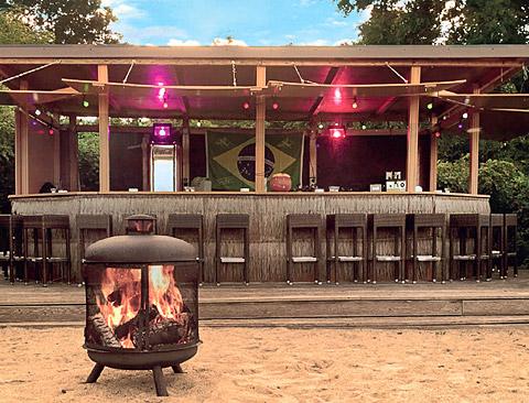 Strandbar Strandrestaurant Marienbad