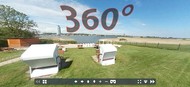 Virtuelle Tour Strandrestaurant Marienbad