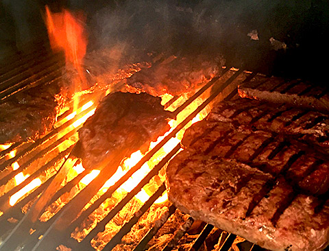 Barbecue Strandrestaurant Marienbad