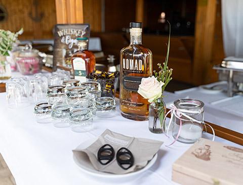 Special Herrentisch Hochzeit Strandrestaurant Marienbad